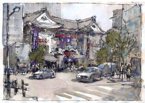 Tokyo, Kabukiza Theatre
