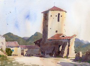 La Begude. Chateau de Poet Laval