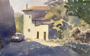 La Begude, Route de Chateauneuf